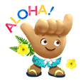 HTJ Official Character Shaka-chan 2