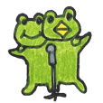 frog place KEROMICHI-AN A lock, a dance