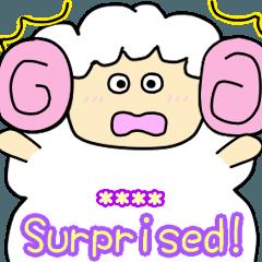 Sheep's feeling [text entry]English