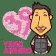 Akihiro Yano Stickers