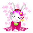京都方言的舞妓兔子