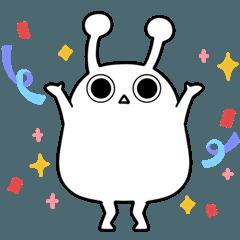 Itiya's alien Sticker