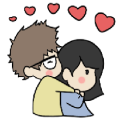 Happy Couple in Love 2
