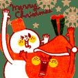 karinの 『りんごくん』クリスマス&お正月