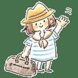 FUKUSAKI Sticker