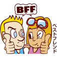 Bilingual Talk Stickers English&Japanese
