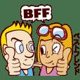 バイリンガルトークスタンプ 英語・日本語