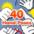 40 Hand Poses