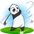 Professional Golfer PANDA
