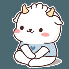 Lovely little goat-Moli