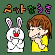 Life of a pet rabbit