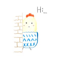 Hi! Sock chicken