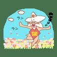 Flower gag