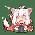 [No dialogue]Hakoniwa asobi Sticker