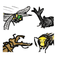 insect Sticker 2