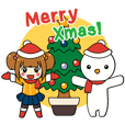 Merry Christmas with Mary & Snow