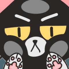 Wrathful Cat - Grumpy Male - English