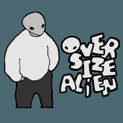 OVER SIZE ALIEN
