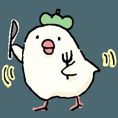 PRETTY BIRDS STICKER2