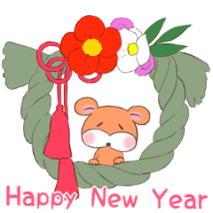 New Year of the cat and rat(Indonesian)