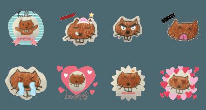 Brown cat!