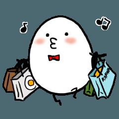 Boiled egg alien 5
