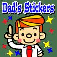 お父さんのスタンプ(日本語バージョン)