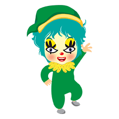 sweet baby clown is so cute and so funny