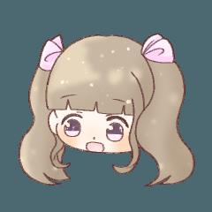 Rabbit ears hair girl