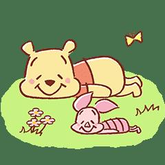 小熊維尼&小豬(可愛和善篇)
