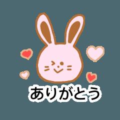 Usagi's daily stickers