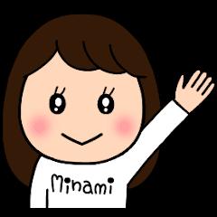 MINAMI's sticker..