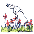 ちいさなウサギと星の花