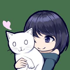白猫と少女 SD版