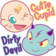 Cutie Cupid & Dirty Devil