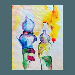 夢中格林2020-插畫集-第一彈