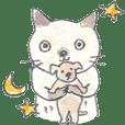 tocorocomugi's Cat Sticker2