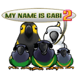 The parrot's name is Gabi & his friends2