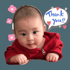 Baby Aidan sticker