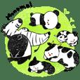 Monochrome animal