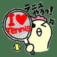 テニスがんばるひよっ子♪