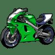 バイク(1990年代)レーサーレプリカ