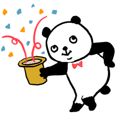 Omakase Panda Sticker