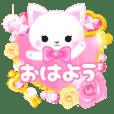 ピンクのデコスタンプ【プチアニマル③】