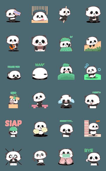 Baby panda 3 : Animated