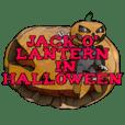 Jack O' Lantern in Halloween