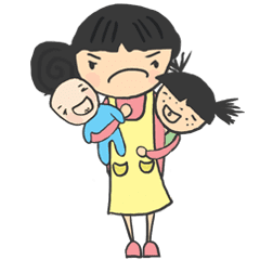 Stickers For Typical Stay At Home Mom Line Stickers Line