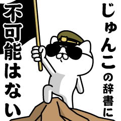 """JUNKO""name/Military cat"