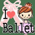 バレエ大好き!!バレリーナちゃん