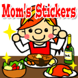 Mom's Stickers (English ver.)